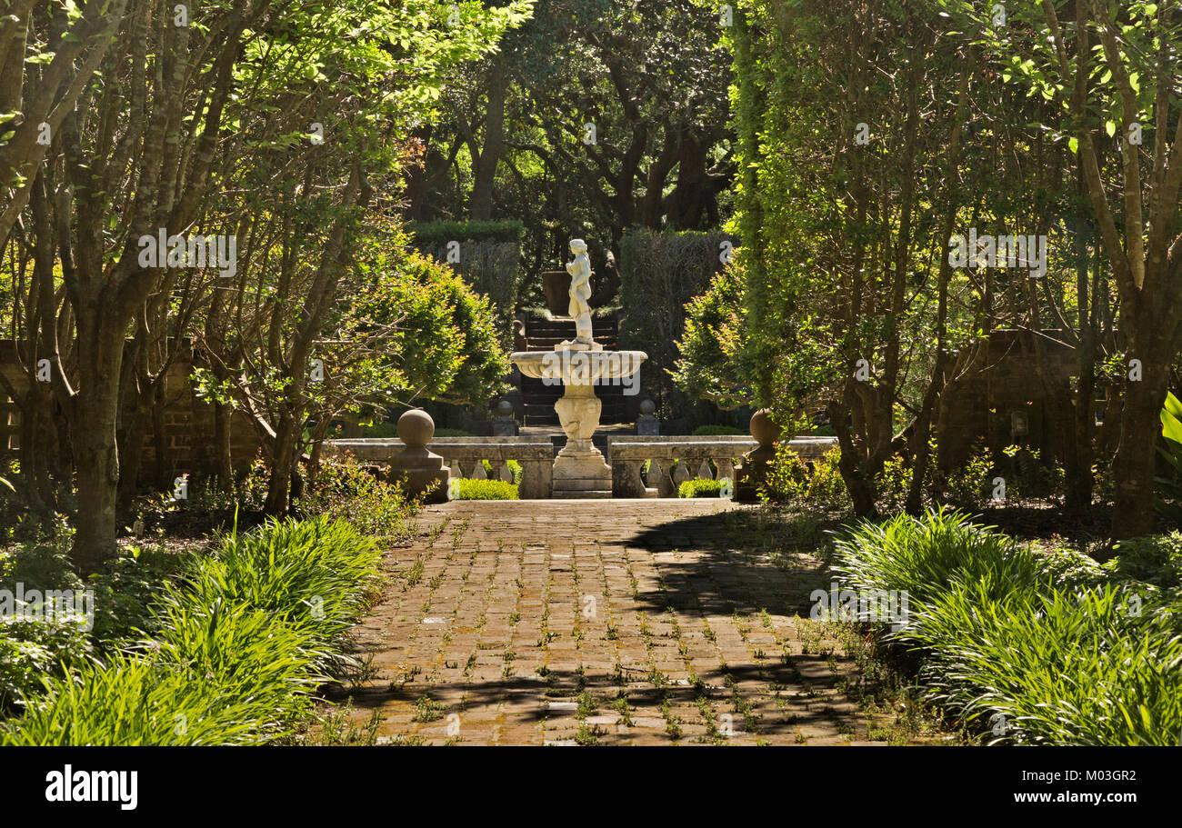 Historic Sunken Garden Stock Photos & Historic Sunken Garden Stock ...