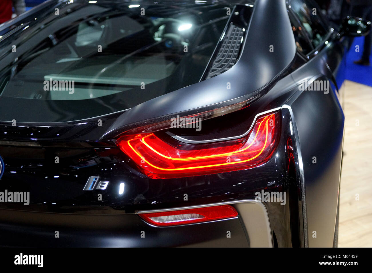Montreal Canada 18th Jan 2018 Rear Tail Section Of The Bmw I8