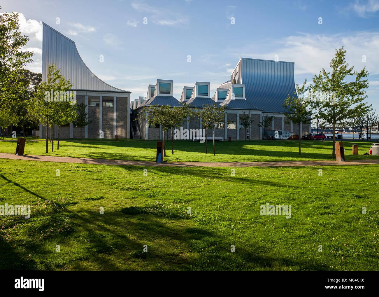 The Utzon Center Aalborg Denmark architecture - Stock Image
