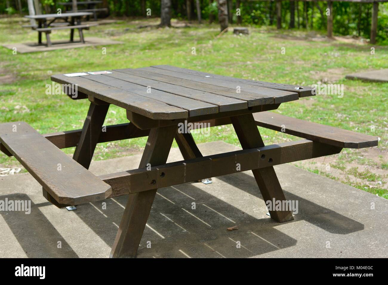 Surprising Brown Wood Public Picnic Table And Chairs Alternatively Gmtry Best Dining Table And Chair Ideas Images Gmtryco