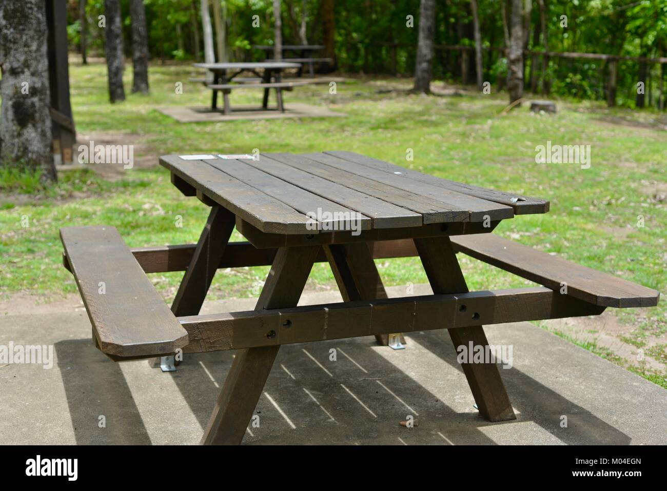 Peachy Brown Wood Public Picnic Table And Chairs Alternatively Gmtry Best Dining Table And Chair Ideas Images Gmtryco