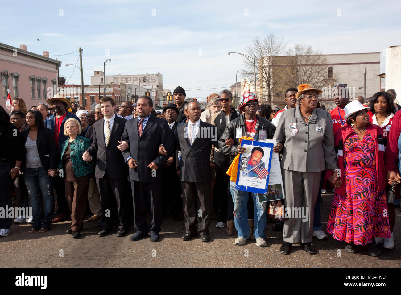 46th Anniversary of the Civil Rights March - Stock Image