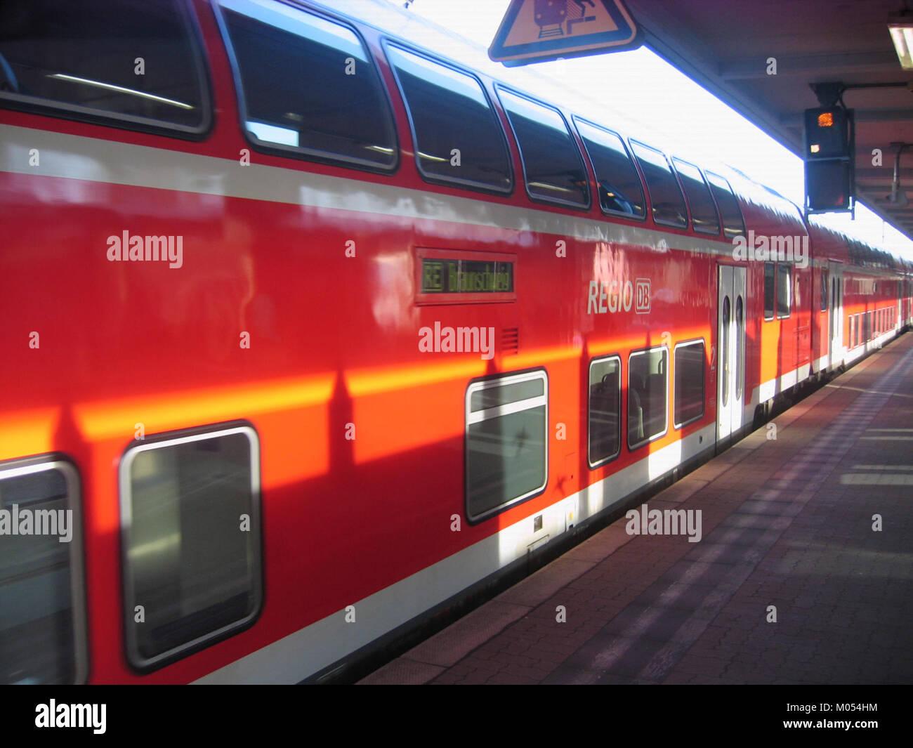 Braunschweig, Ems-Leine-Express 2009-Nov (5) - Stock Image