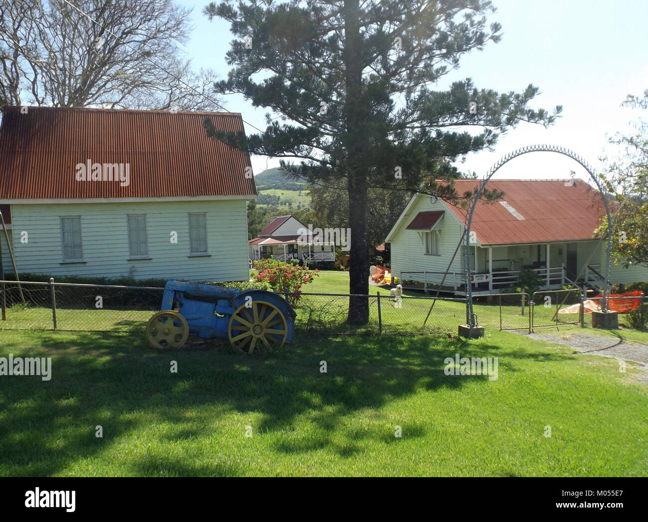 Buildings at Historical Museum at Templin, Queensland - Stock Image