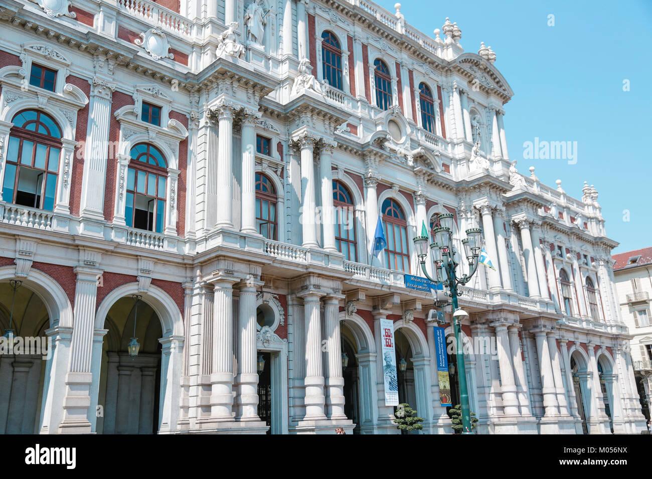 Museo Del Risorgimento.Turin Italy Museo Del Risorgimento Italiano And Historical Palaces