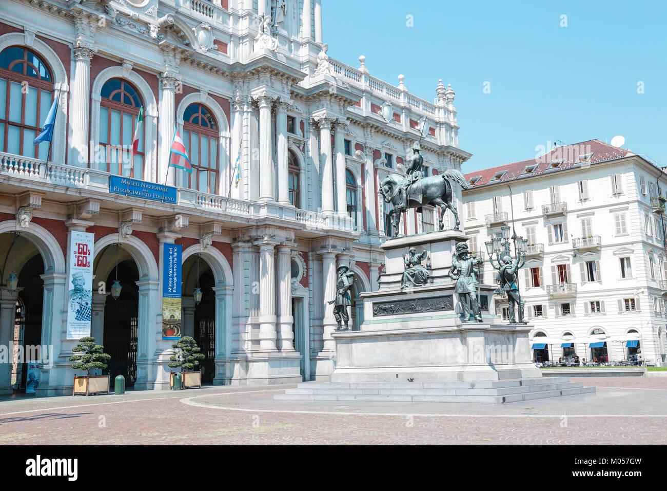 Museo Nazionale Del Risorgimento Italiano.Turin Italy Museo Del Risorgimento Italiano And Historical Palaces