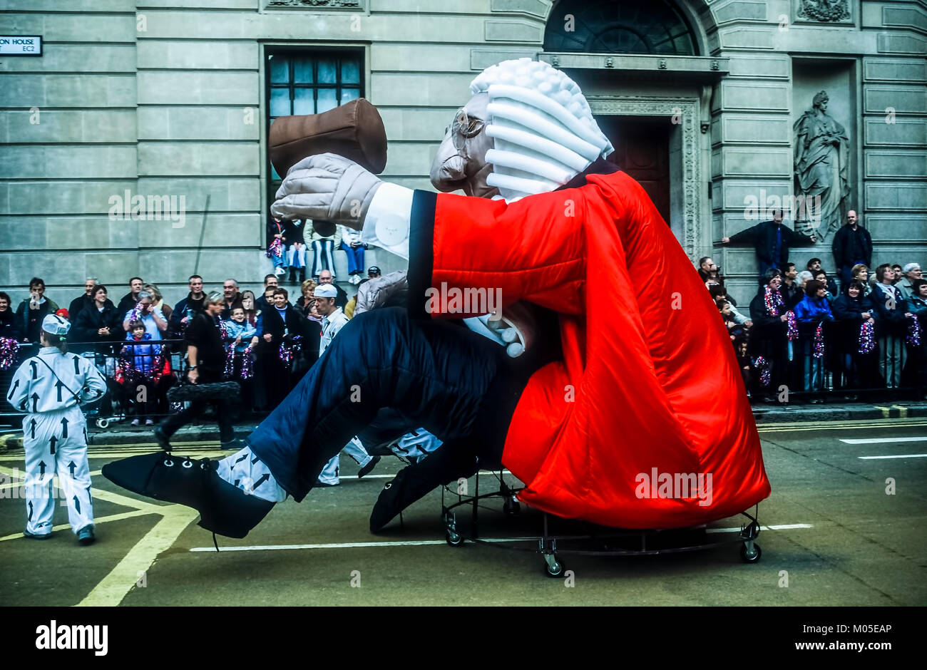 A section of the parade at the Annual Lord Mayor's Show. - Stock Image