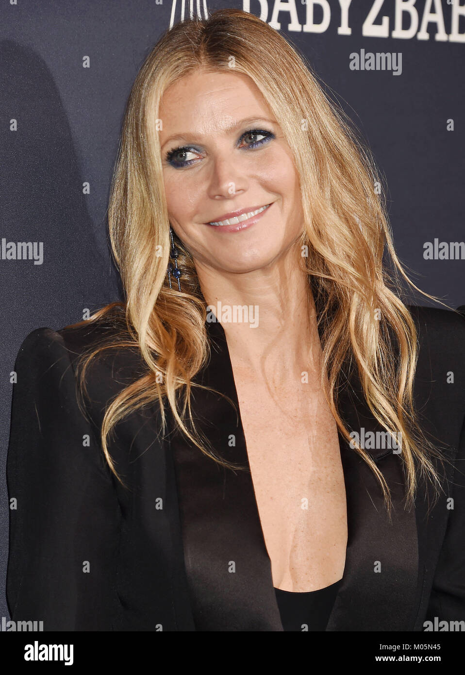 GWYNETH PALTROW US film actress  attends the 2017 Baby2Baby Gala at 3Labs on November 11, 2017 in Culver City, California. - Stock Image