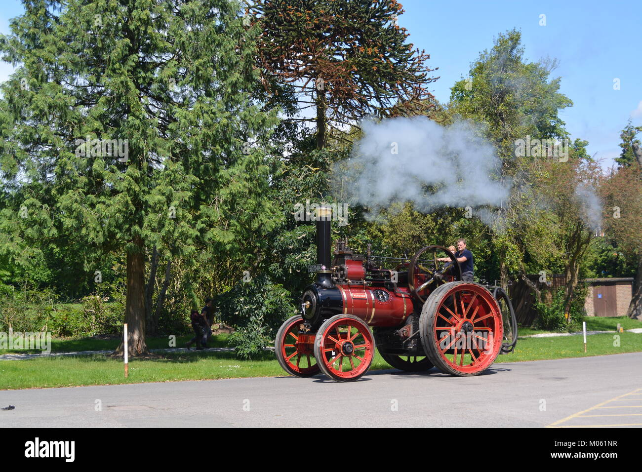 1905 Marshall Traction Engine Number 43560 - Stock Image