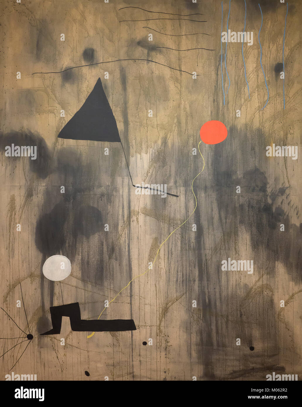 The Birth of the World, Joan Miro, 1925, - Stock Image