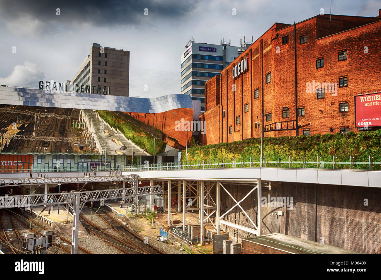 Birmingham New Street Station, Birmingham, UK. - Stock Image