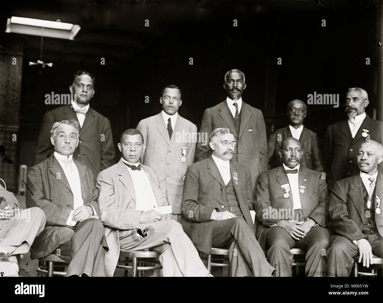 National Negro Business League Executive Committee - Stock Image
