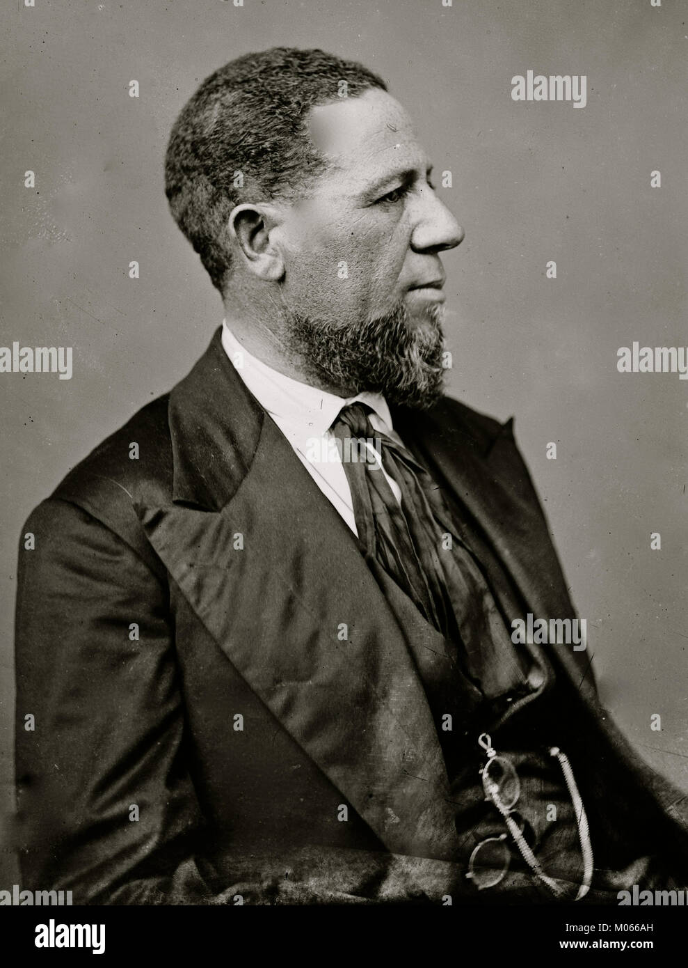 Hon. Hiram R. Revels of Miss. - Stock Image