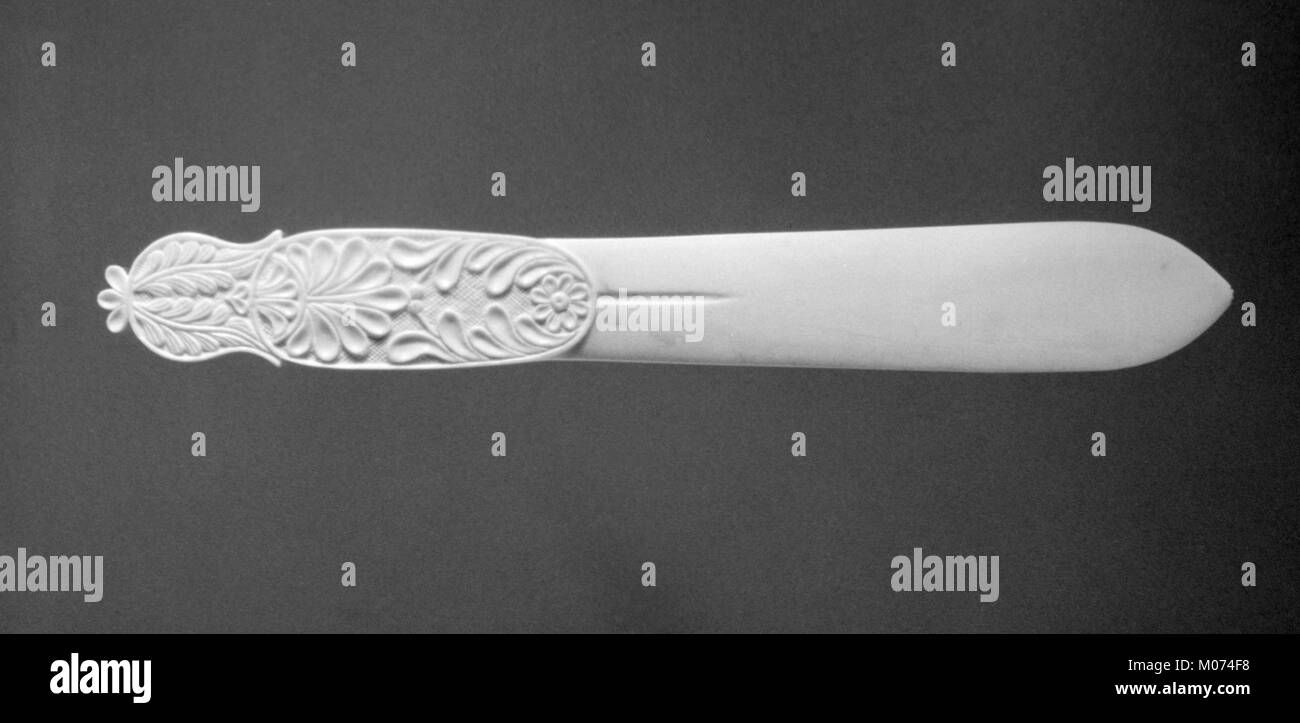 Letter opener (part of a set) MET 189779 - Stock Image