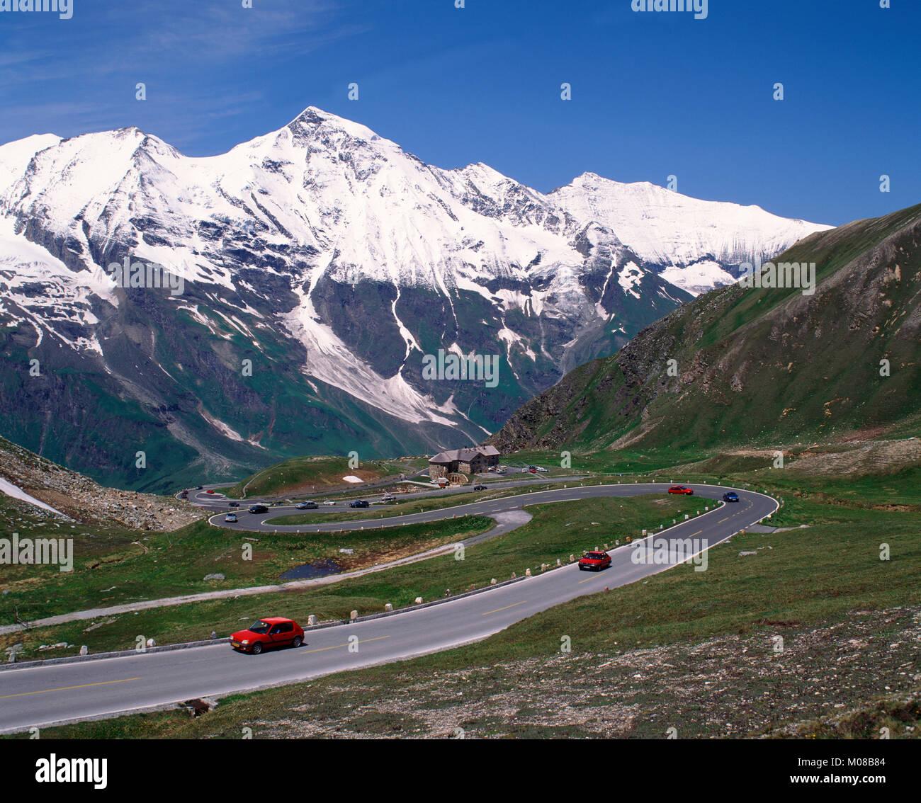 Grossglockner Pass, Hohe Tauern National Park, Carinthia, Austria Stock Photo
