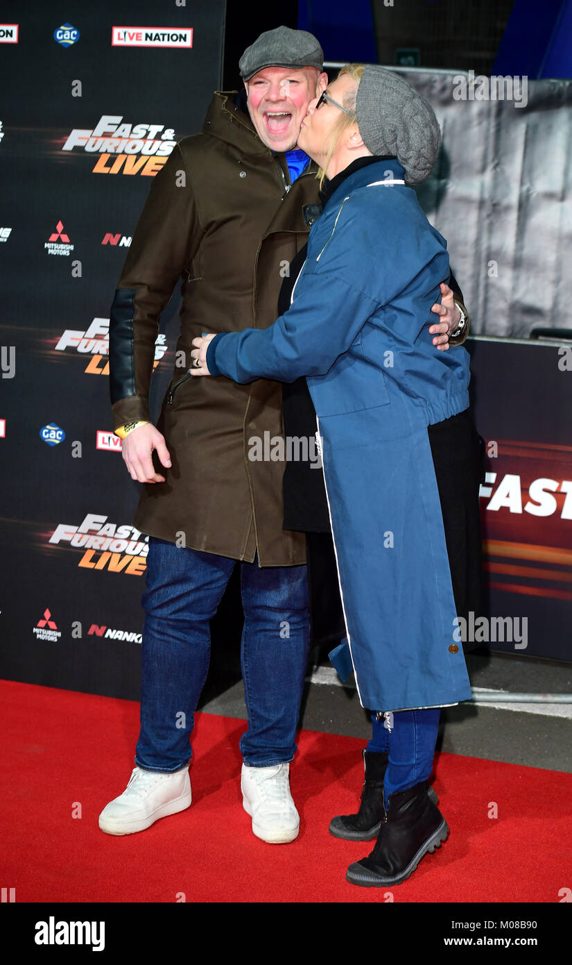 Tom Kerridge and Beth Kerridge attending the World Premiere of Fast ...