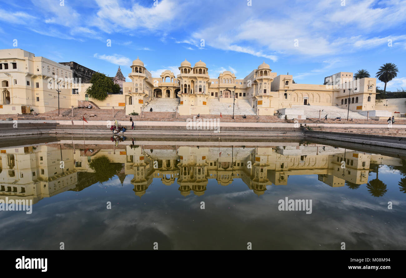 Stunning Gwalior Ghat, Pushkar, Rajasthan, India - Stock Image