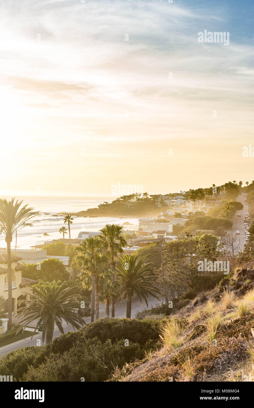 Malibu coast Stock Photo