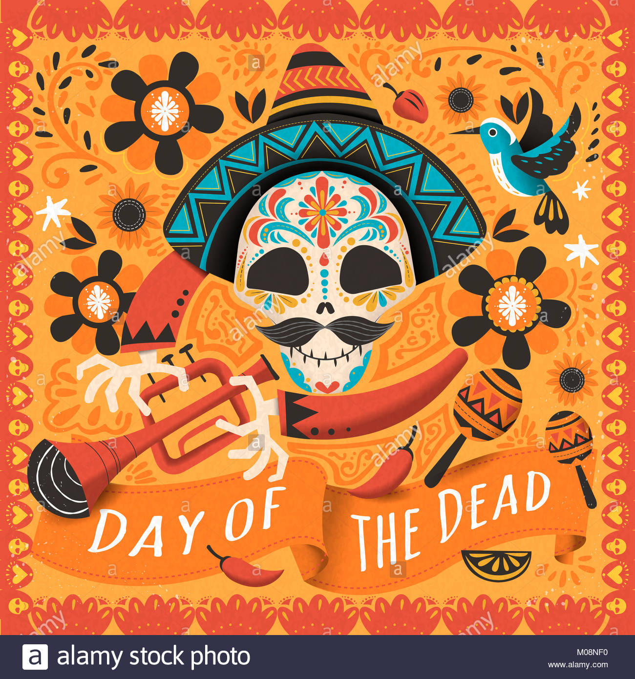 day dead sugar skull candy stock photos day dead sugar skull candy