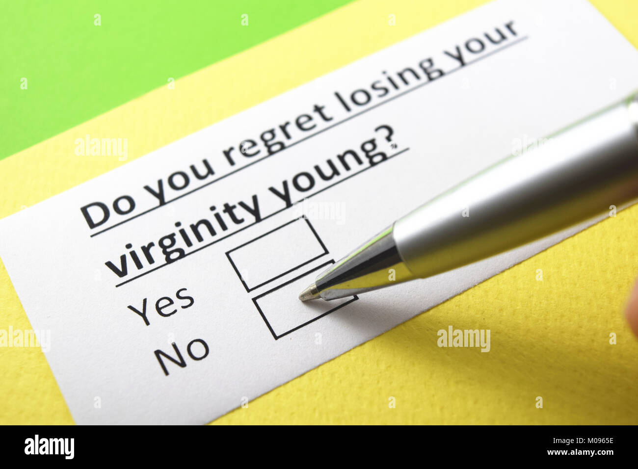 do you regret losing your virginity