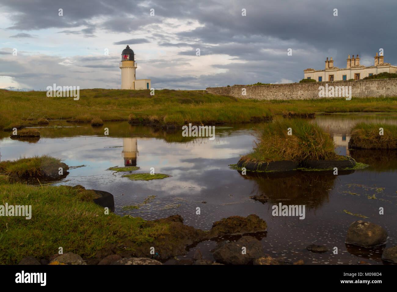 Arnish Point Lighthouse - Stock Image