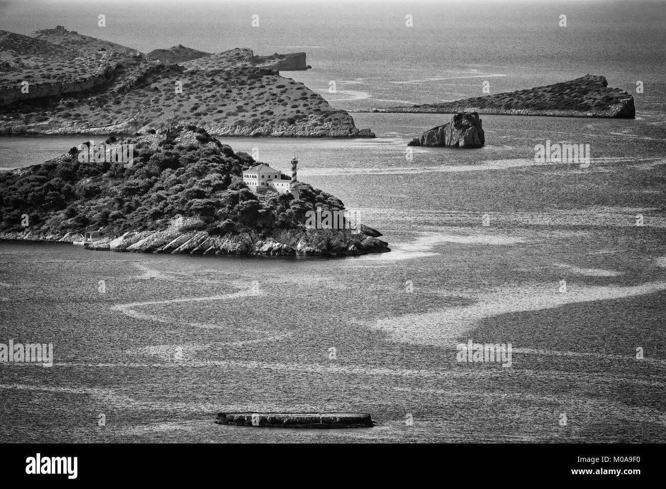Summer on island Dugi otok - Stock Image