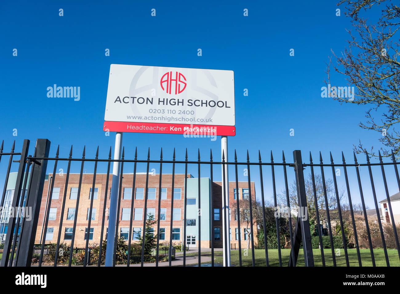 Acton High School Gunnersbury Lane London W3 UK