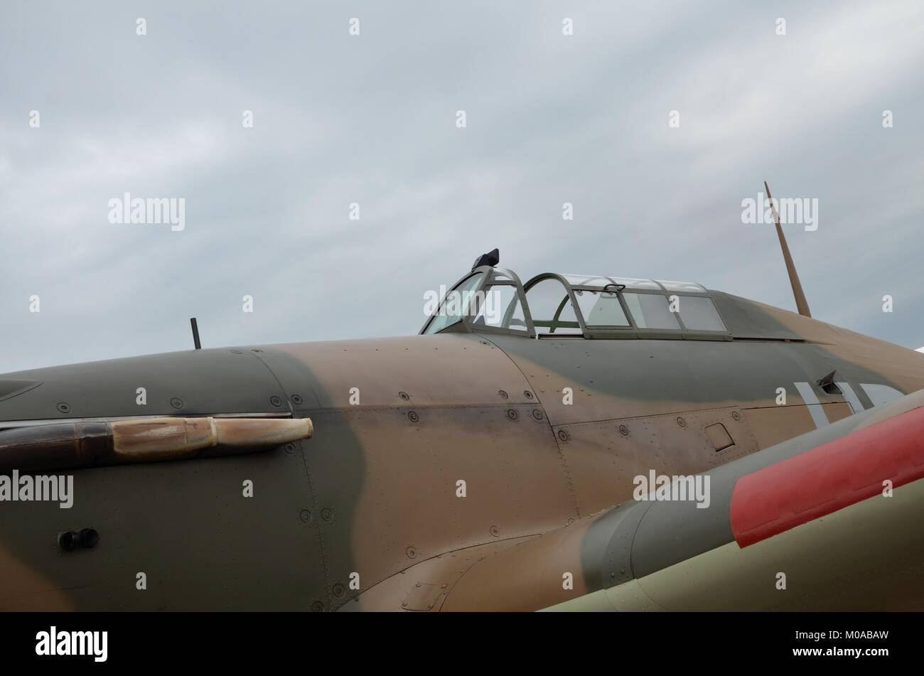 Hawker Hurricane fighter aircraft - Stock Image
