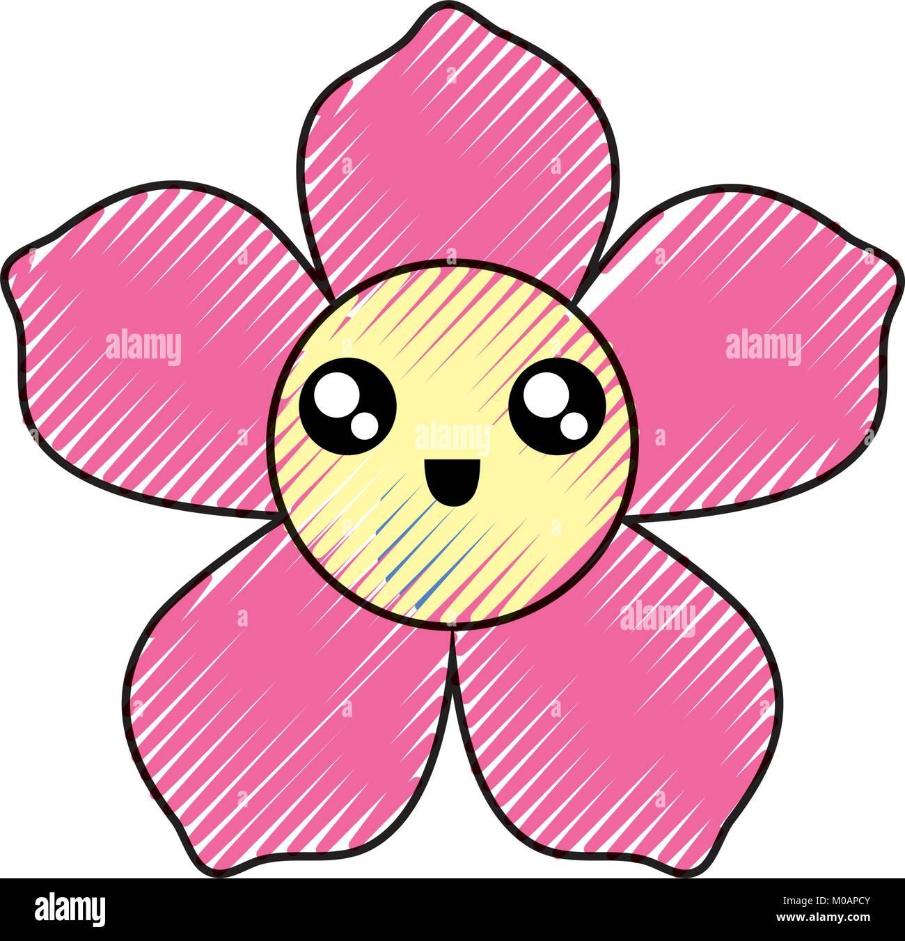 Tropical flower icon stock photos tropical flower icon stock kawaii tropical flower icon stock image mightylinksfo