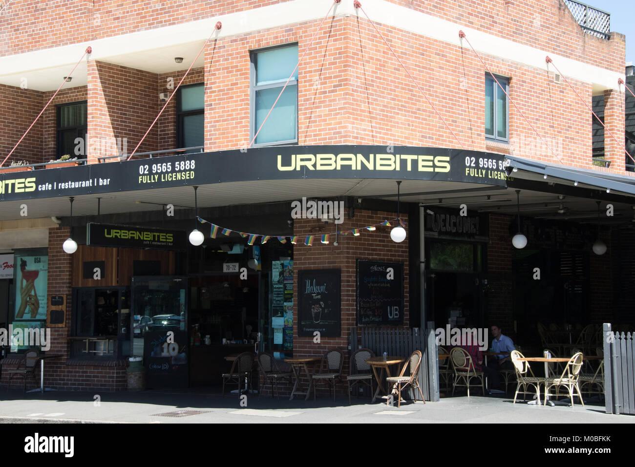 Urban Bites Restaurant At 70 72 King Street Newtown In