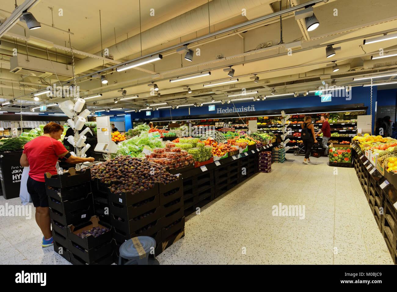 Finnish Supermarket Stock Photos & Finnish Supermarket Stock Images - Alamy