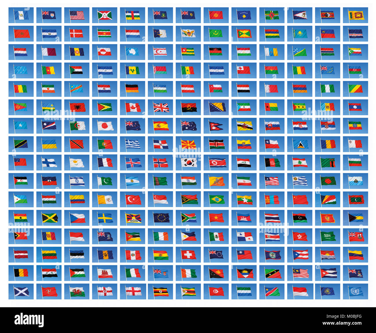 Wallpaper Of The Flags Of The World The National Flags Of