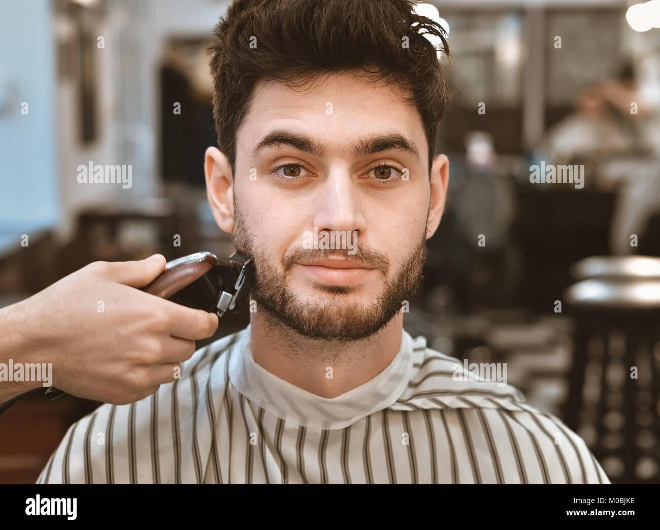 Stylish Haircut Men Stock Photos Stylish Haircut Men Stock Images