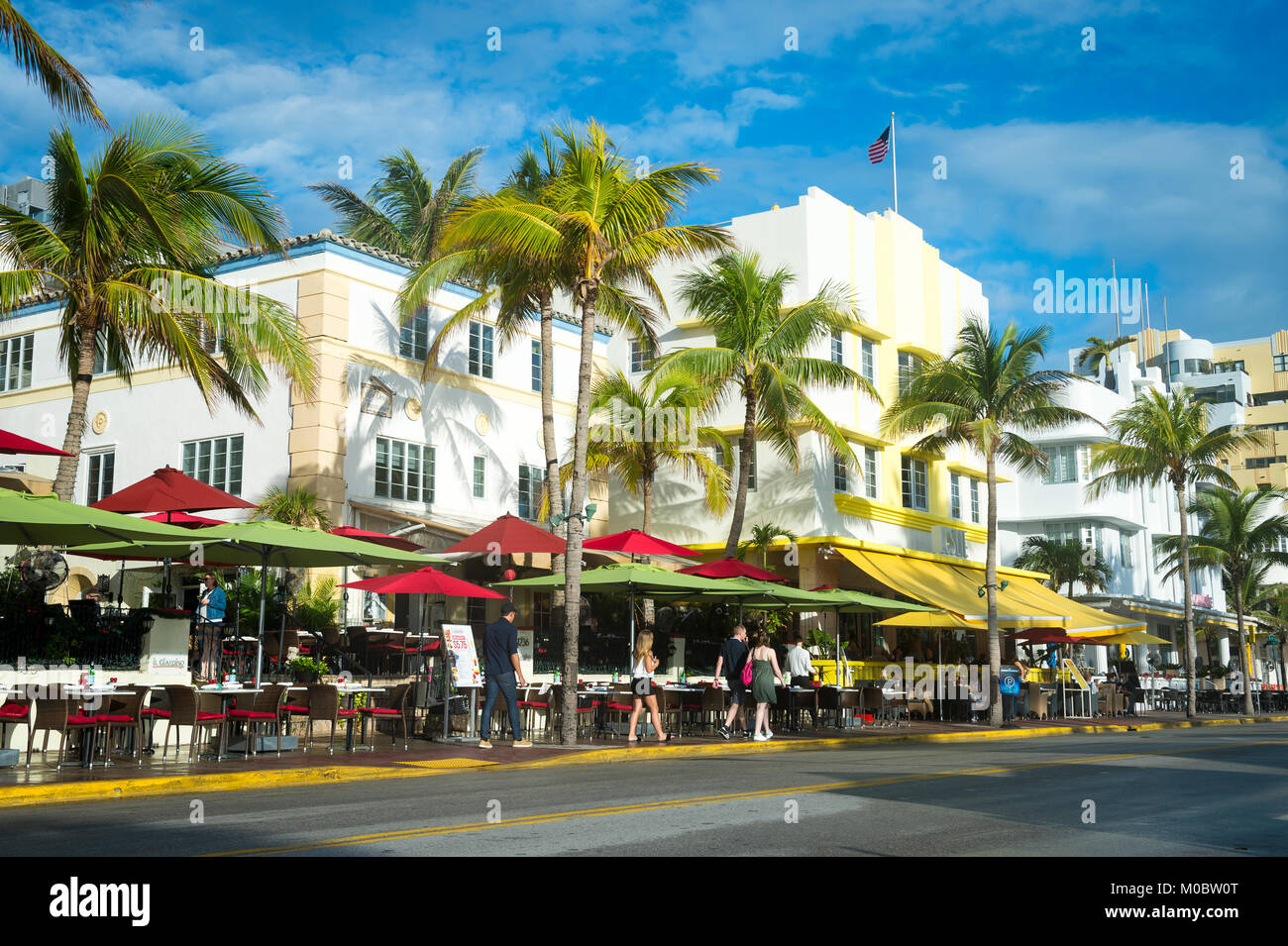 Miami January 12 2018 Restaurants On The Tourist Strip