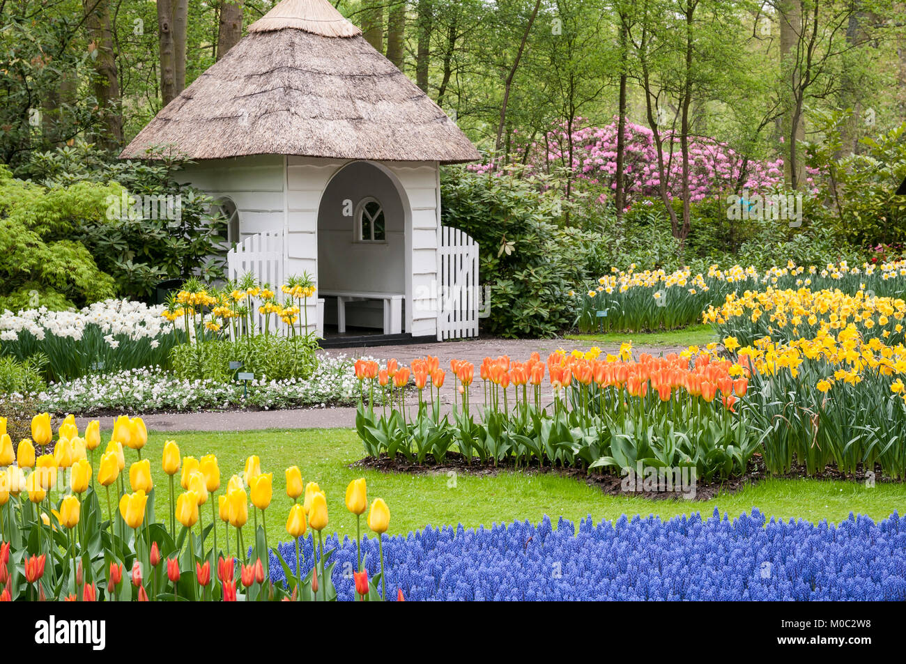 Keukenhof, Lisse, Niederlande - Stock Image