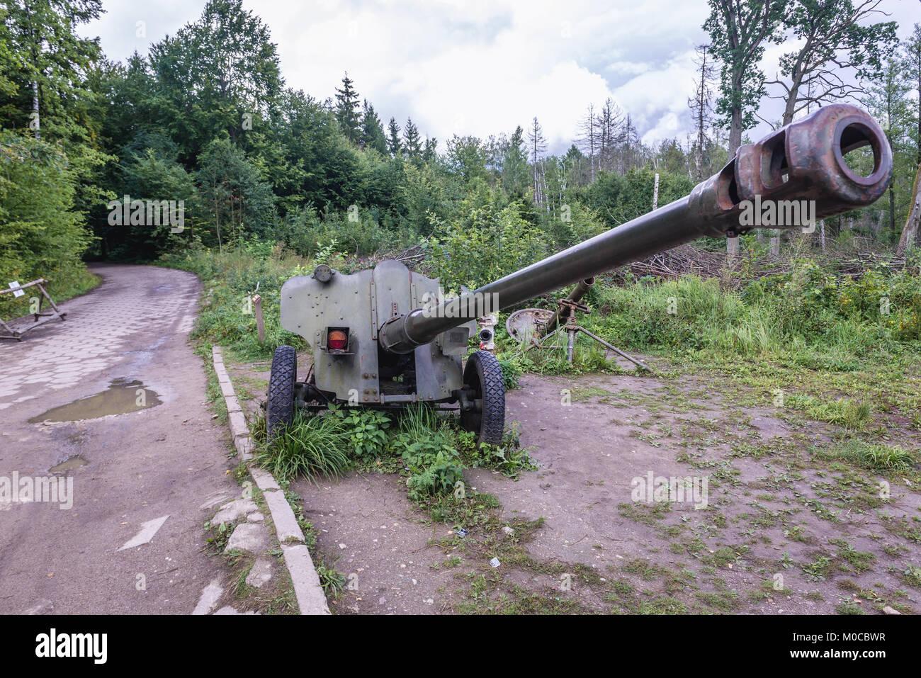 85 mm divisional gun D-44