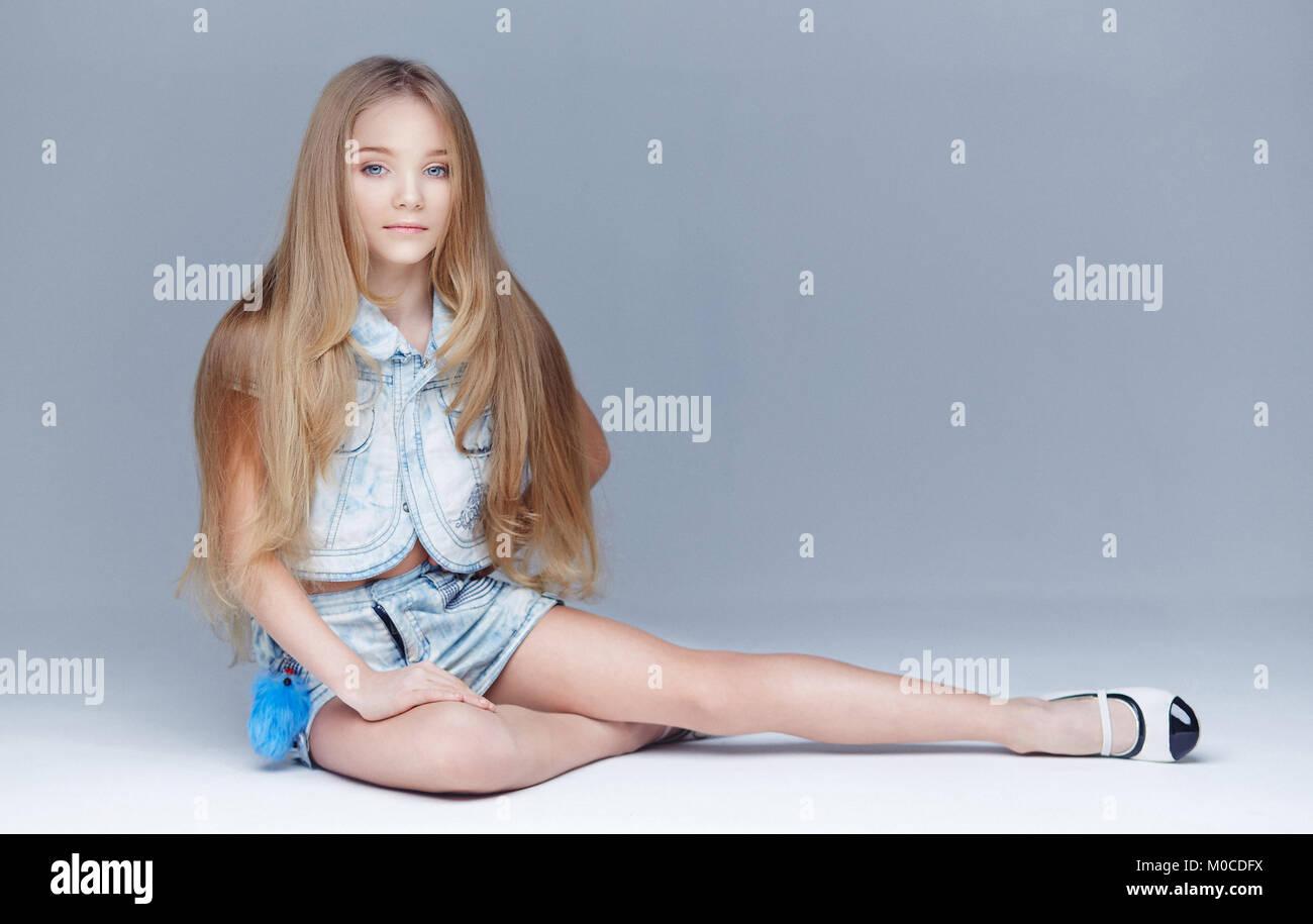 preteen girls legs Beautiful Little Girl Sitting Legs Stock Photos & Beautiful ...
