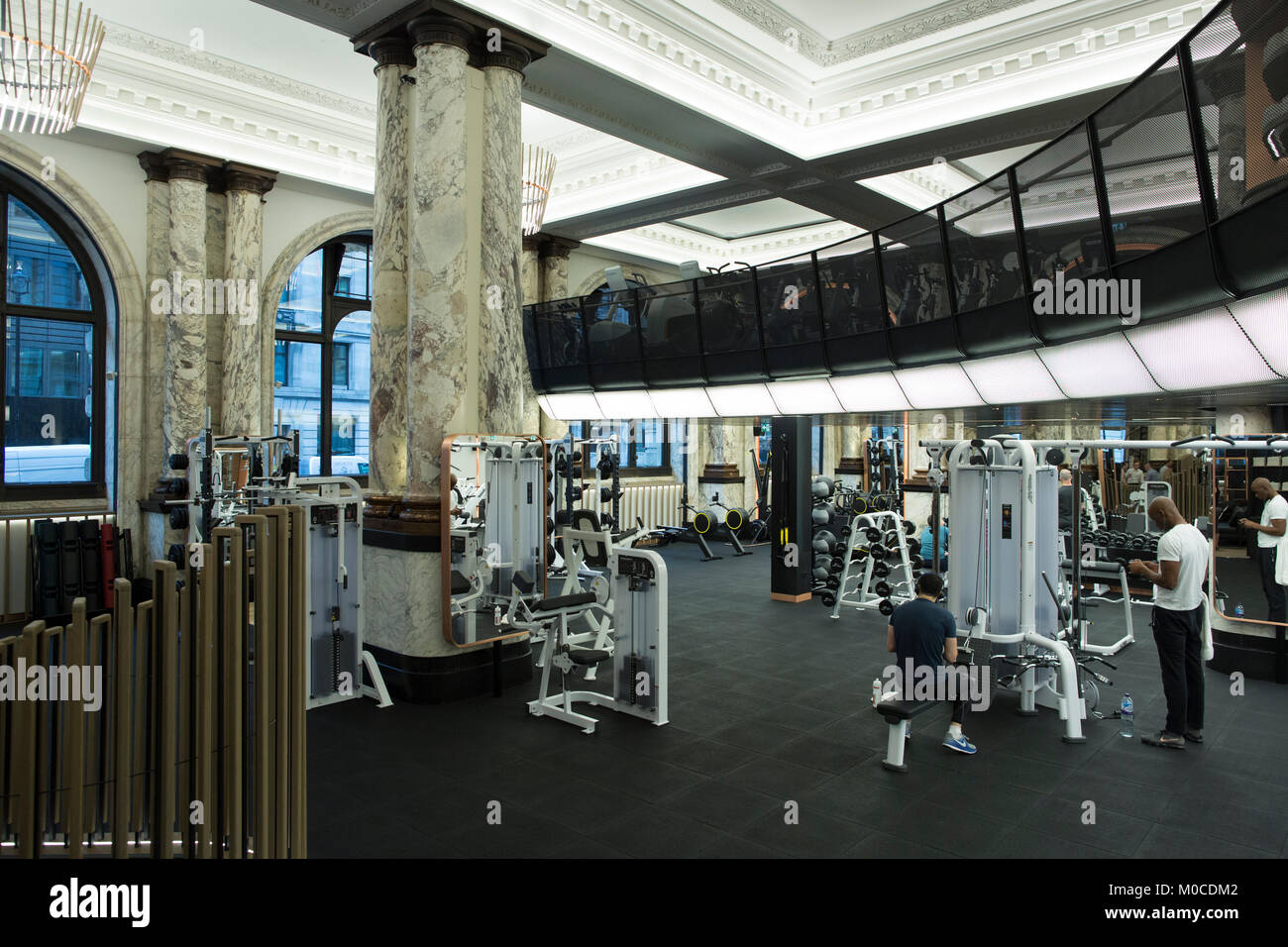 E by Equinox, high-end luxury gym membership, at no 12 St