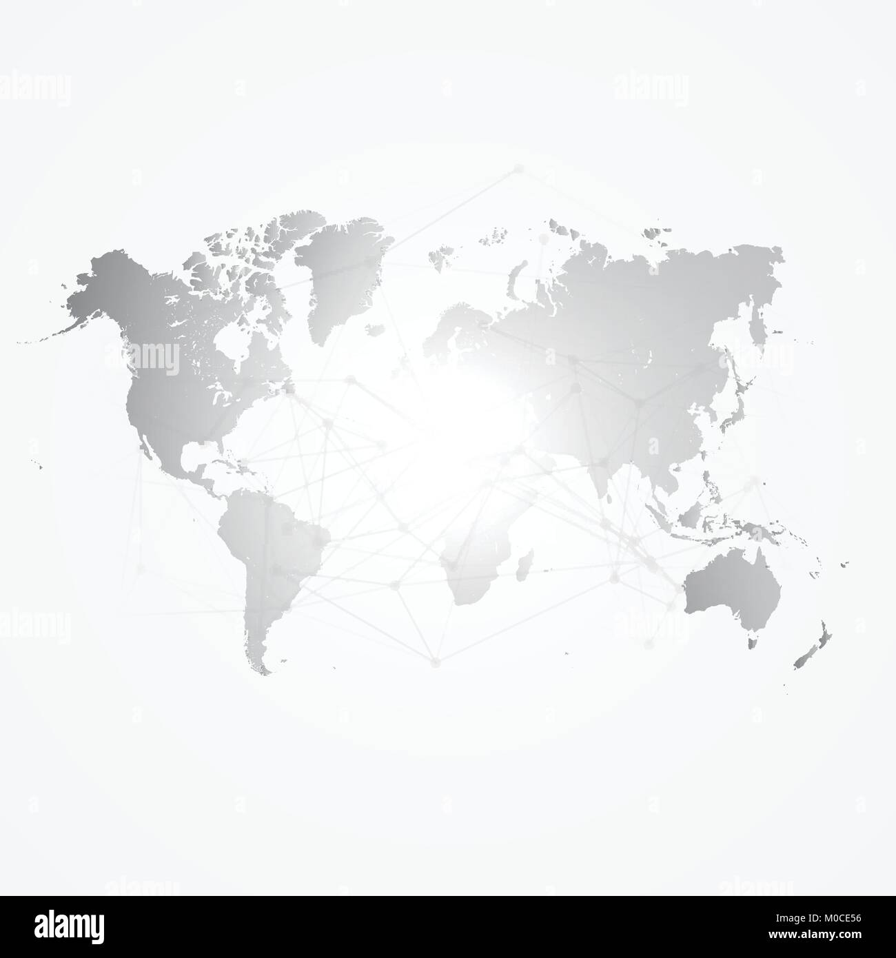 World map silhouette with connection grid vector illustration world map silhouette with connection grid vector illustration background network concept design gumiabroncs Image collections