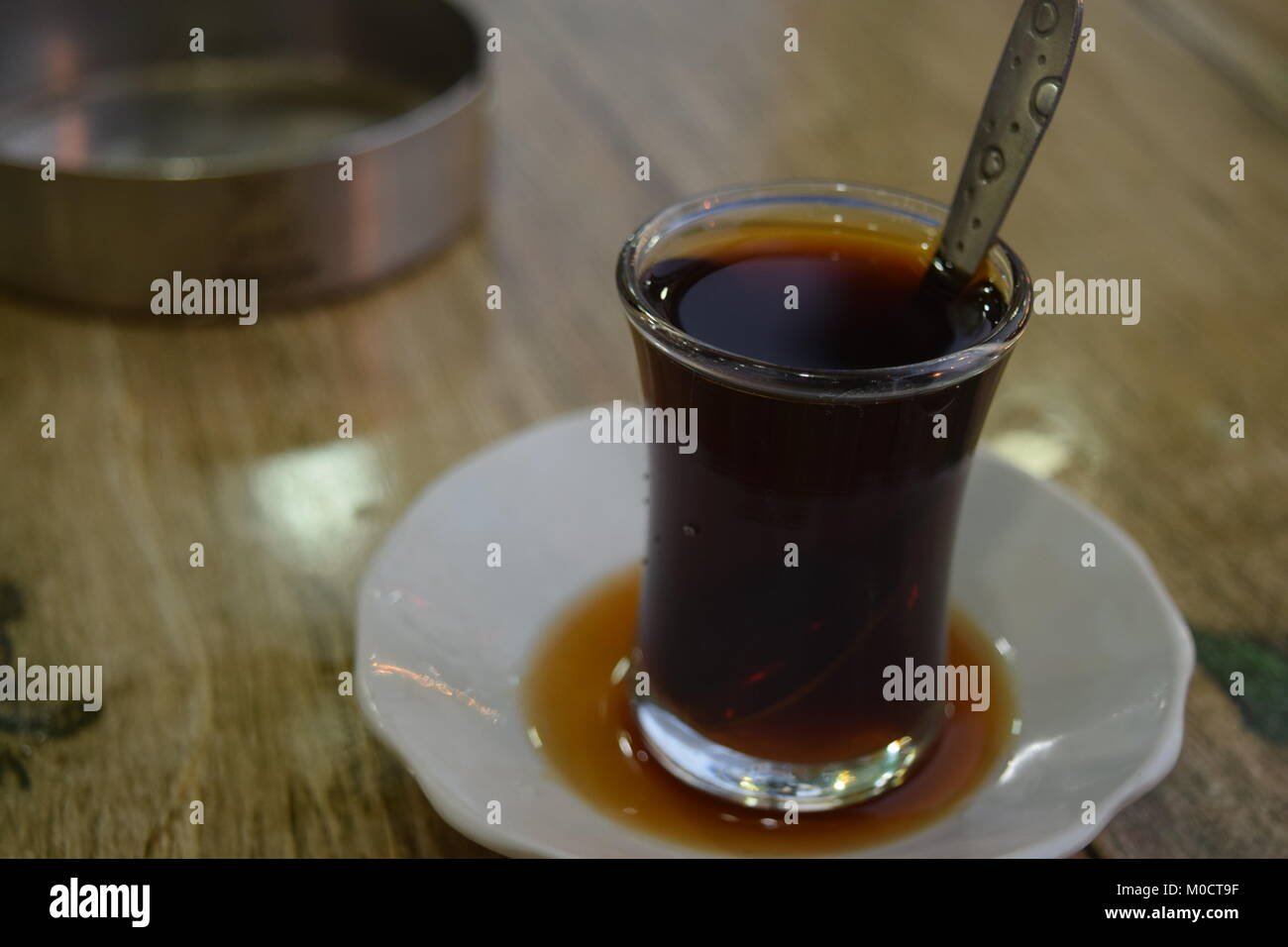 the tea - Stock Image