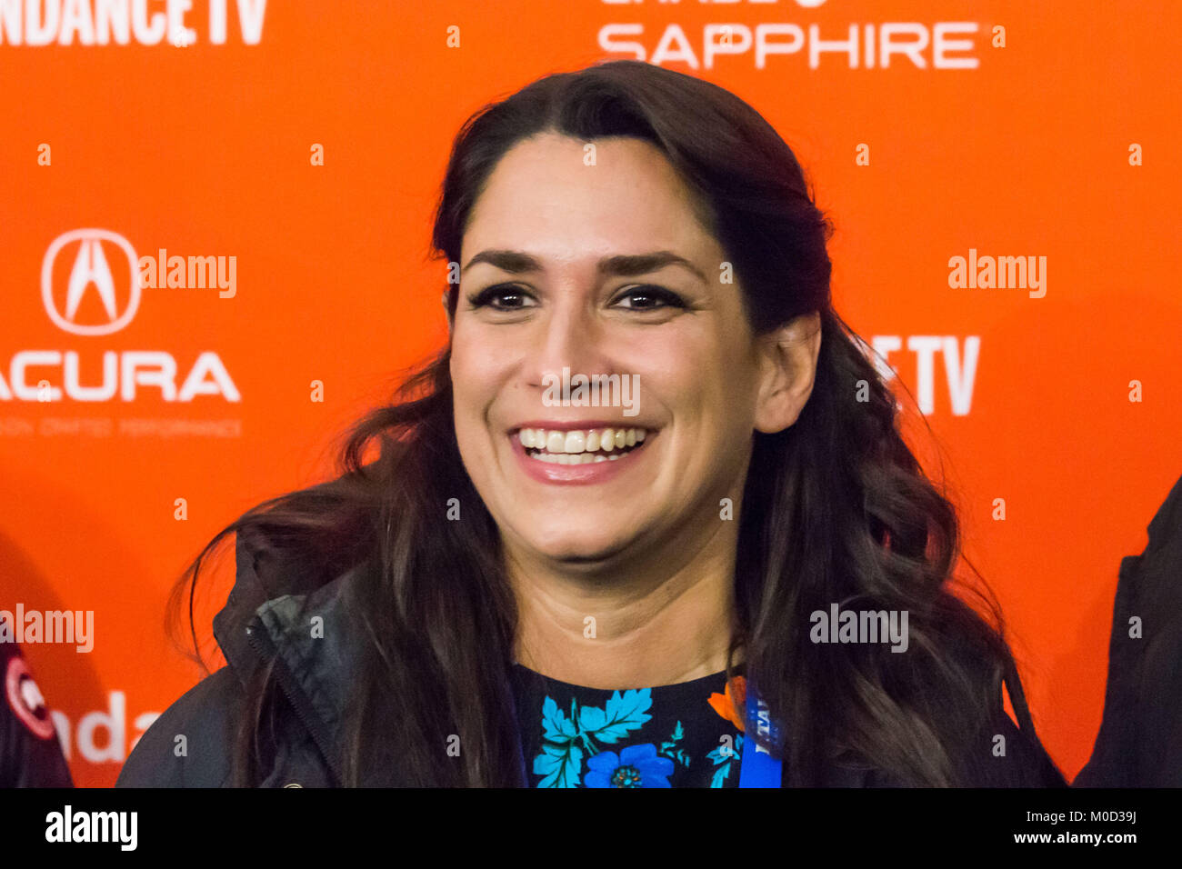 Tatiana Kelly attends the 'The Catcher Was A Spy' Premiere during the 2018 Sundance Film Festival at The - Stock Image