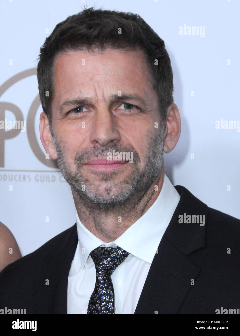 BEVERLY HILLS, CA - JANUARY 20: Director Zack Snyder attends the 2018 Annual Producers Guild Awards at the Beverly - Stock Image