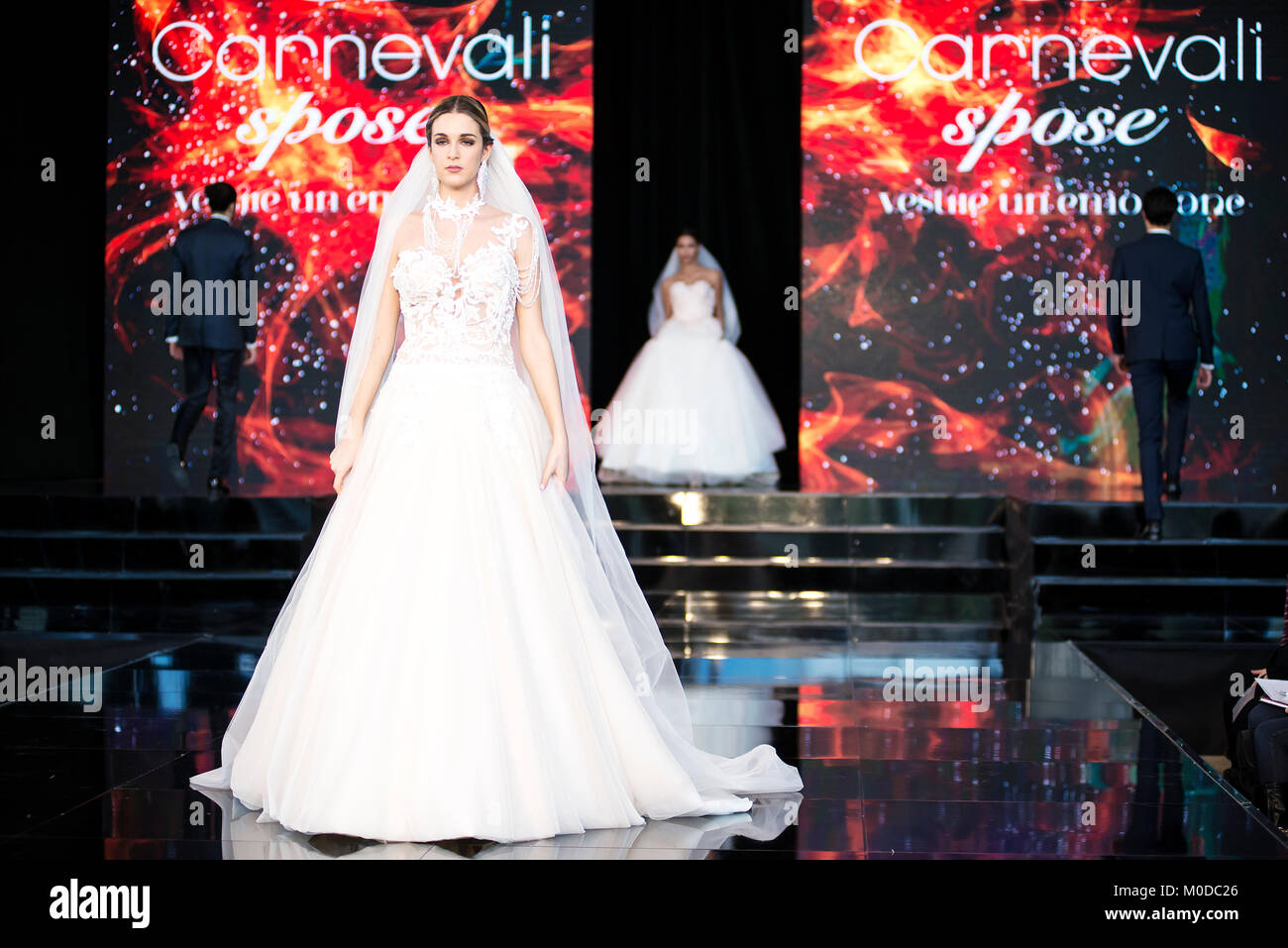 f2b1a86336a0 Carnevali Spose Fashion Show during Roma Sposa 2018 at La Nuvola Convention  Center Credit  Silvia Gerbino Alamy Live News