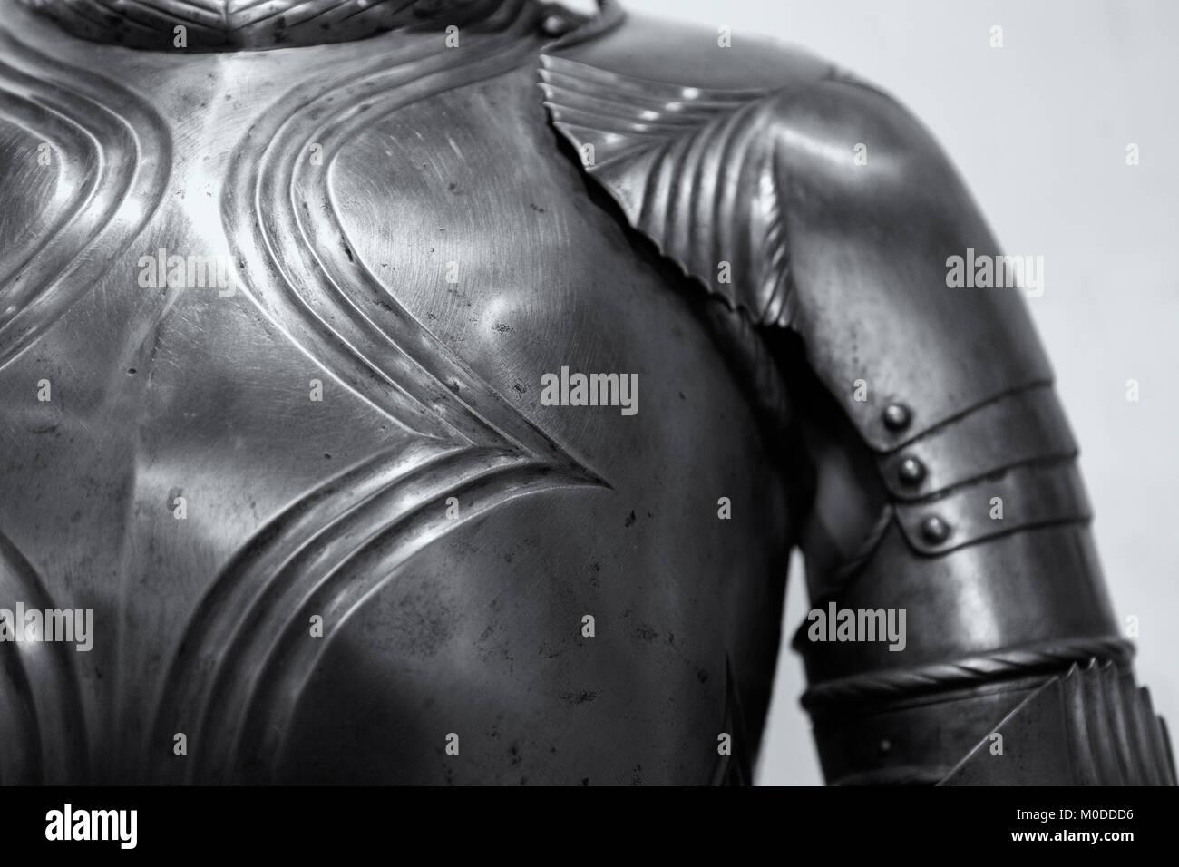 Castle Armour Armor Medieval Stock Photos & Castle Armour Armor ...