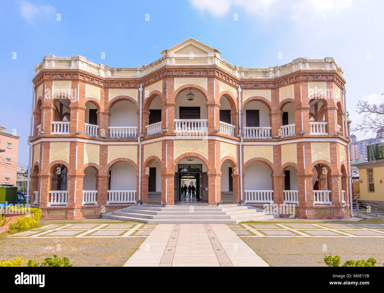 Tainan County Magistrate Residence - Stock Image