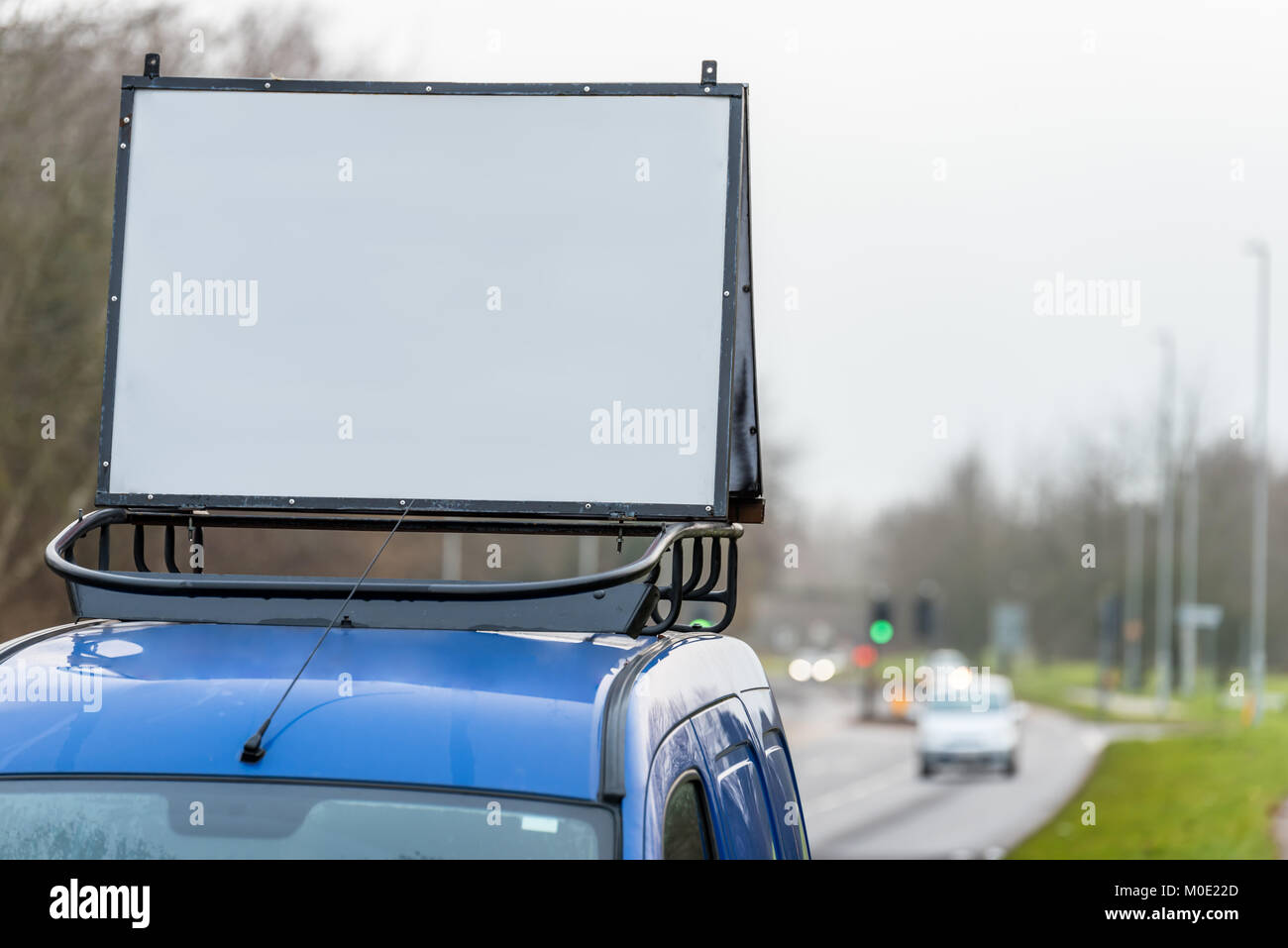 Advertising On Car Roof