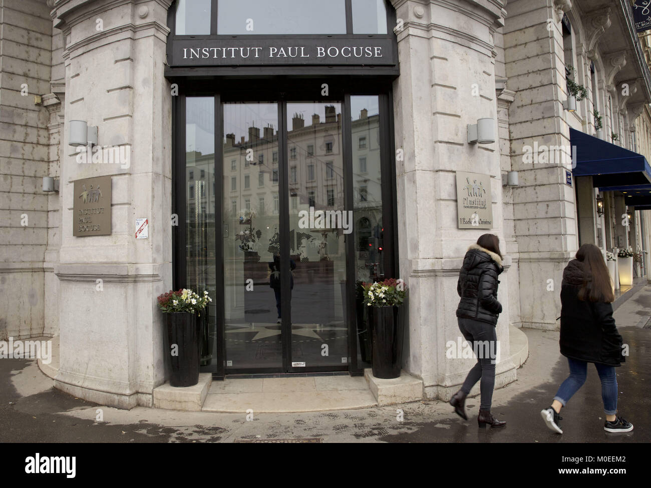 Lyon France 21st Jan 2018 Le Royal Is The Hotel And Restaurant