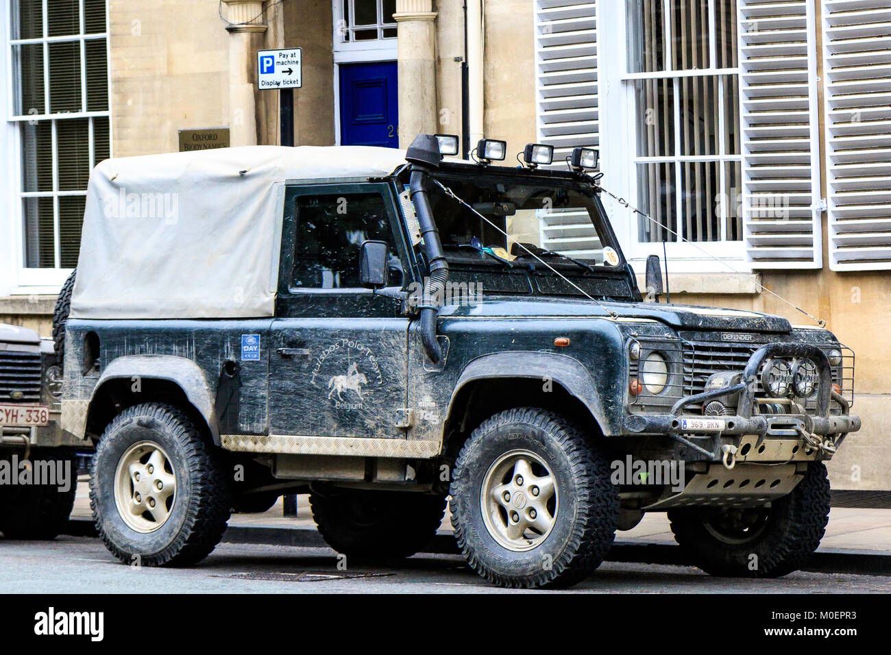 The One and Only Landrover - Stock Image