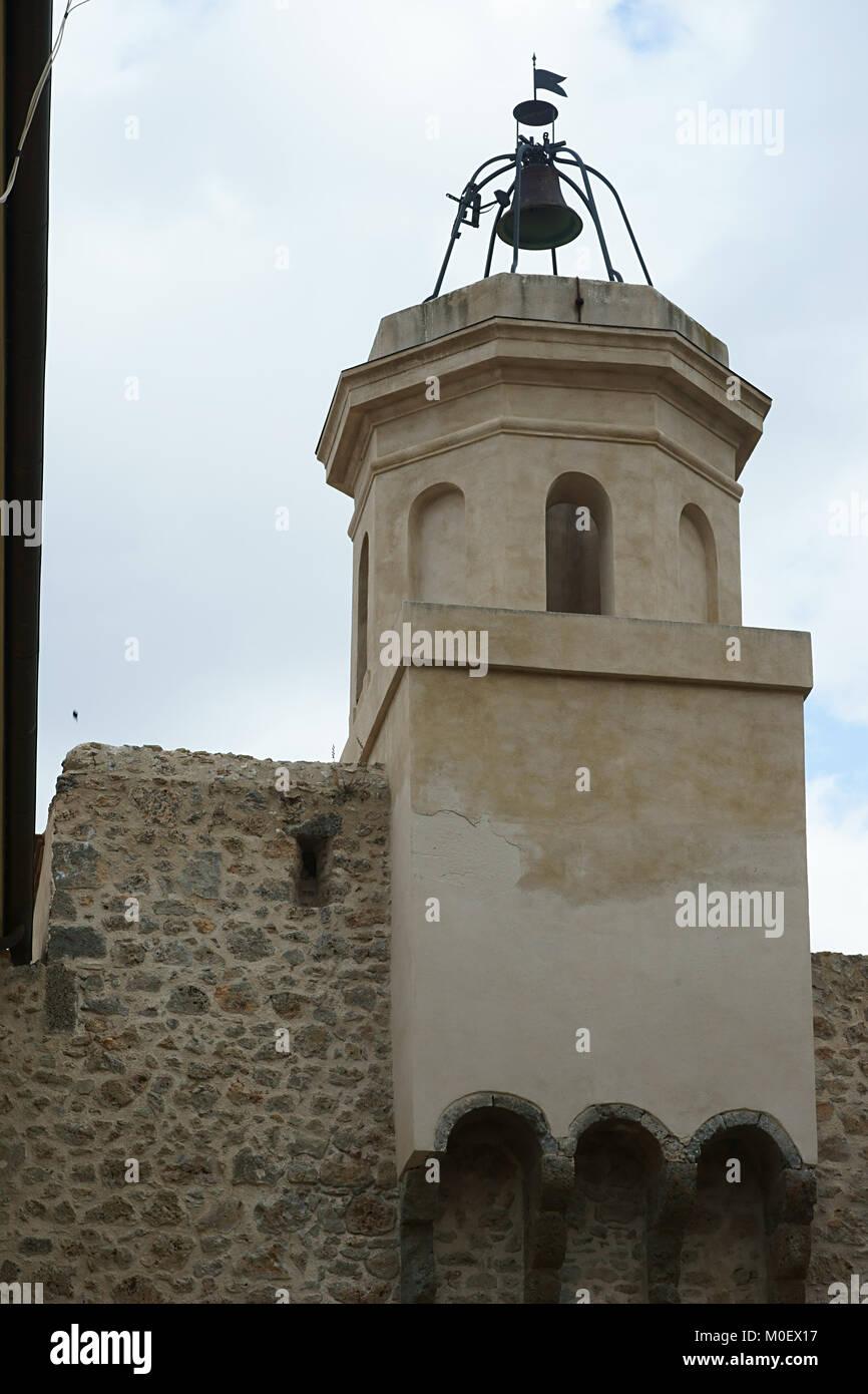 Porto ercole, Argentario, historic center - Stock Image