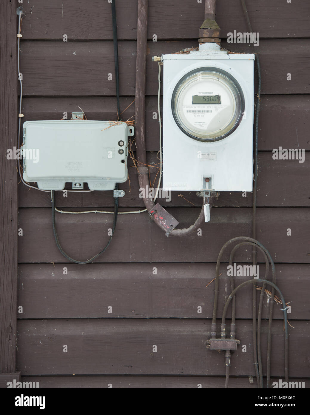 Electric Meter Stock Photos & Electric Meter Stock Images